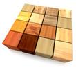 Cube Wood 002