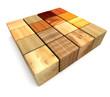 Cube Wood 001