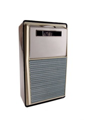 vintage portable transistor radio