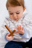 bébé enfant religion amour chrétien croix église comprendre tend poster