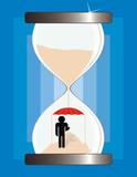 protector de tiempo poster