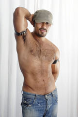 Male Sexualized Body Shot