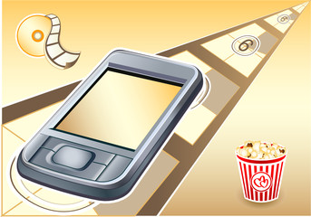 palmtop (pda) series: it is the motion pictures device