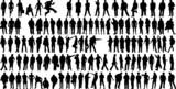Fototapety man silhouettes
