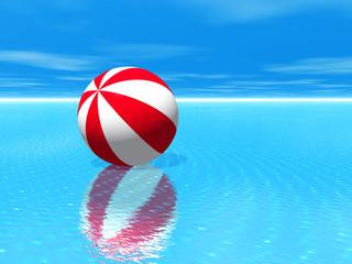 Beach Ball Water