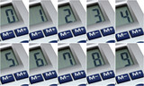 Consecutive numbers, 600 to 902 pixels isolated photos poster