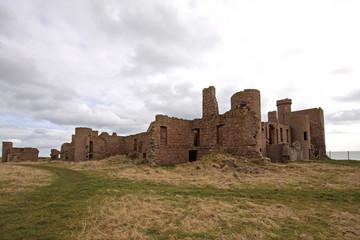 The ruins of Slains Castle