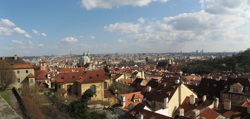 Cityscape from Prague Castle, Czech Republic