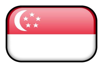 Bouton drapeau de Singapour