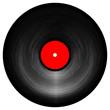 Isolated vinyl record