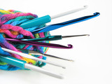YARN WITH CROCHET HOOKS - 6986879