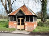 English Village Bus Shelter poster