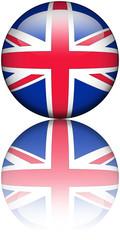 Drapeau Royaume-Unis Reflet