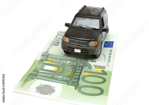 money and car