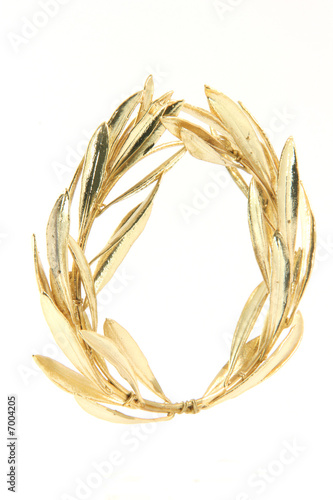 winner gold wreath