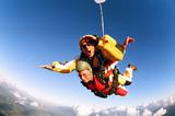 Fototapete Fallschirme - Mann - Beim Sport