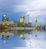 Chemical plant poster