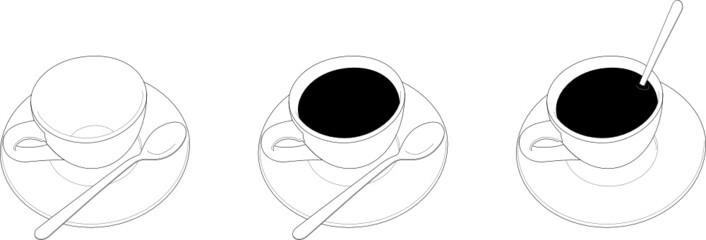 Serie coffee cups
