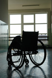 Empty wheelchair poster