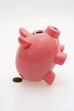 Piggy Taking Penny Poop poster