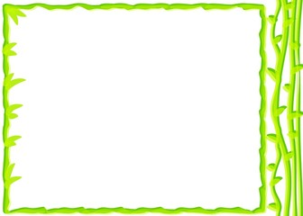 Spring Green Bamboo Stationery