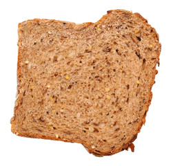 Slice of multi-grain bread