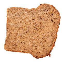 Slice of multi-grain bread