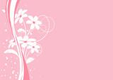 vecteur série - bordure bouquet de fleurs - 7028222