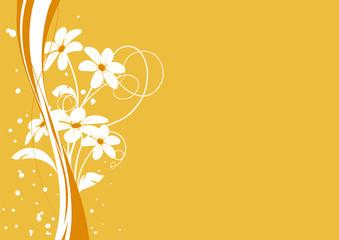 vecteur série - bouquet de fleurs sous le soleil en été