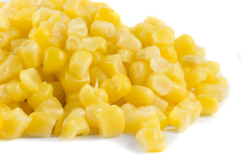 Close-up picture os sweetcorn