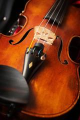 a Violin in violin case