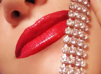 diamonds and gloss
