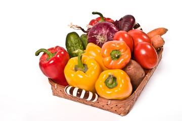 Vegetable`s basket
