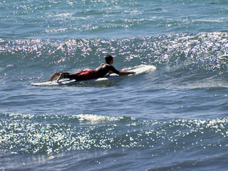 Catching The Waves