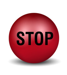 Stop - red