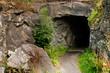 Leinwanddruck Bild - Cave