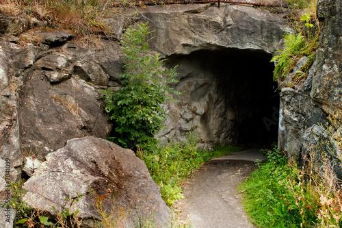 Leinwanddruck Bild Cave