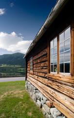 Old Norwegian Log Building