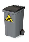 Container de déchets dangereux poster