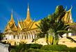 Quadro Grand palace, Cambodia.