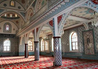 à la mosquée
