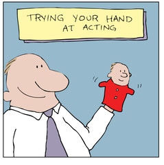 Trying Your Hand At Acting