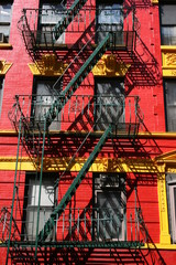 new york,emergency ,stairway