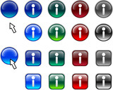 Info buttons. poster