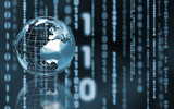 Binary world-