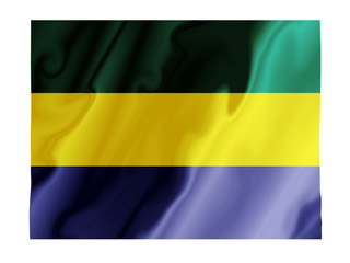 Gabon fluttering