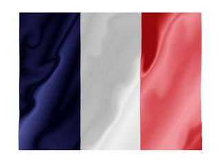 France fluttering