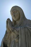 Catholic Statue poster