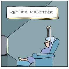 Retired Puppeteer