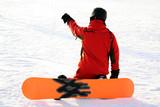 winter sport snowboard ski urlaub zeigen poster